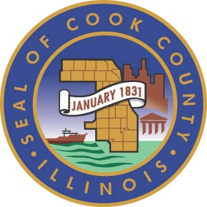Cook County Illinois Color Seal