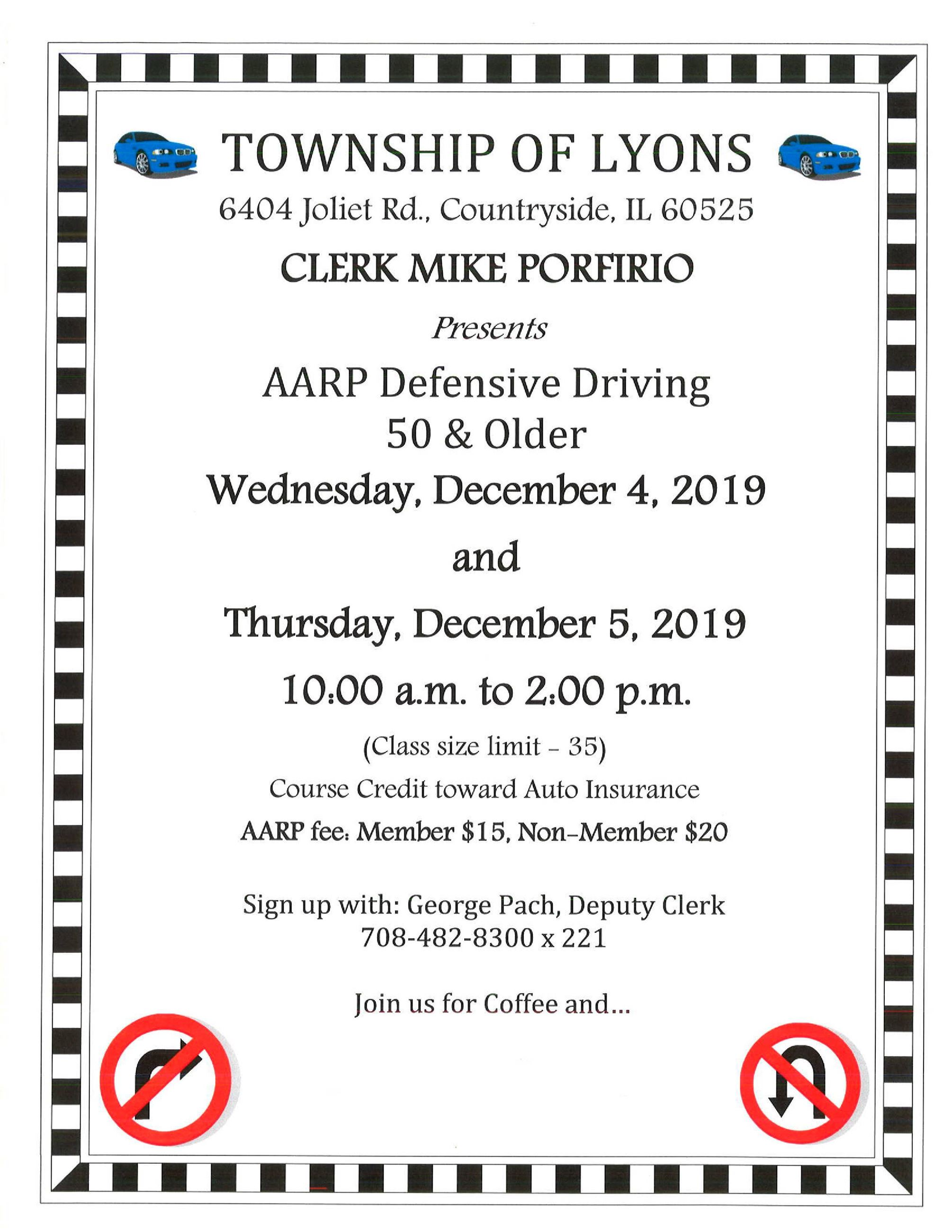 AARP Defensive Driving 50&Older Flyer