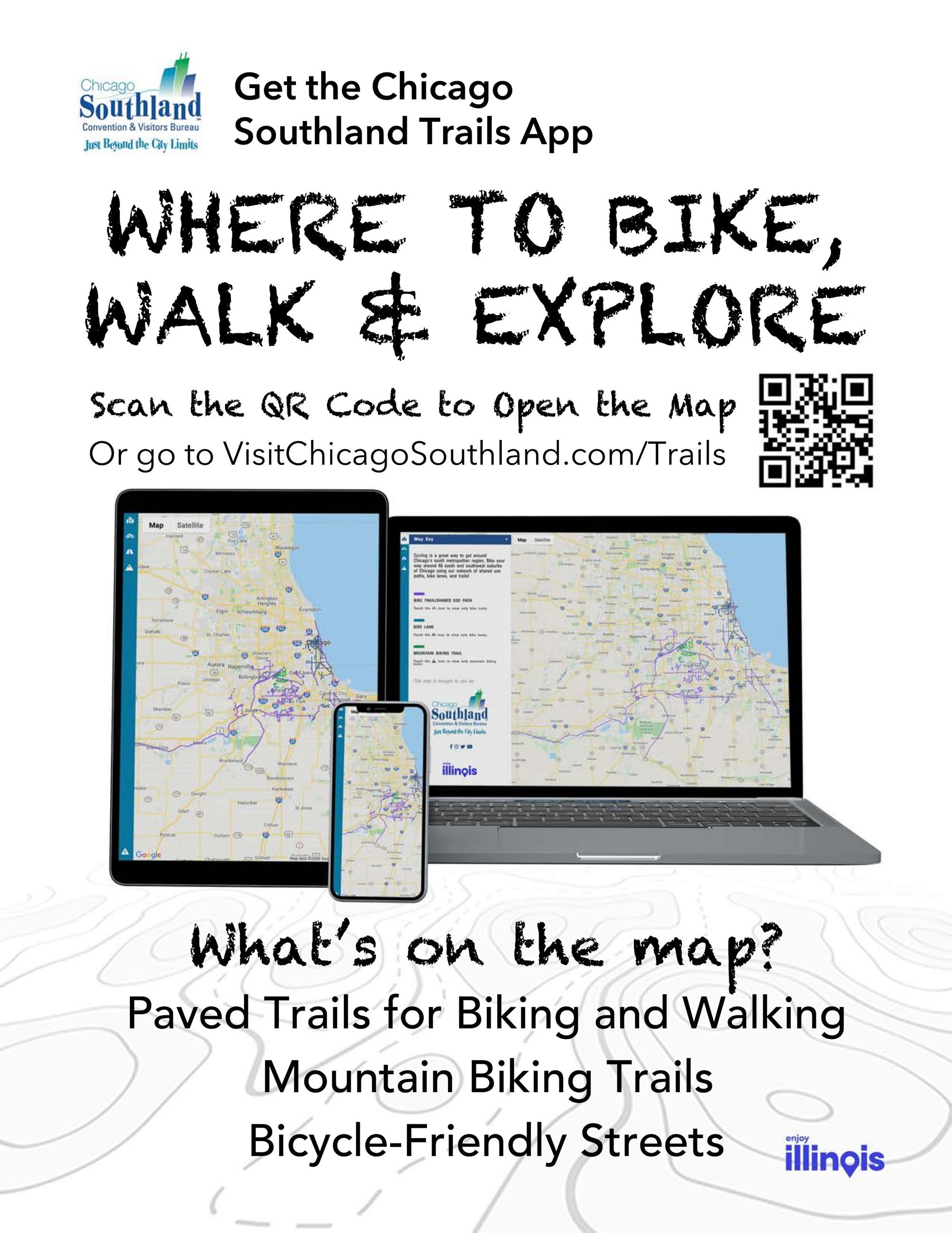 CSCVB Trails App Flier