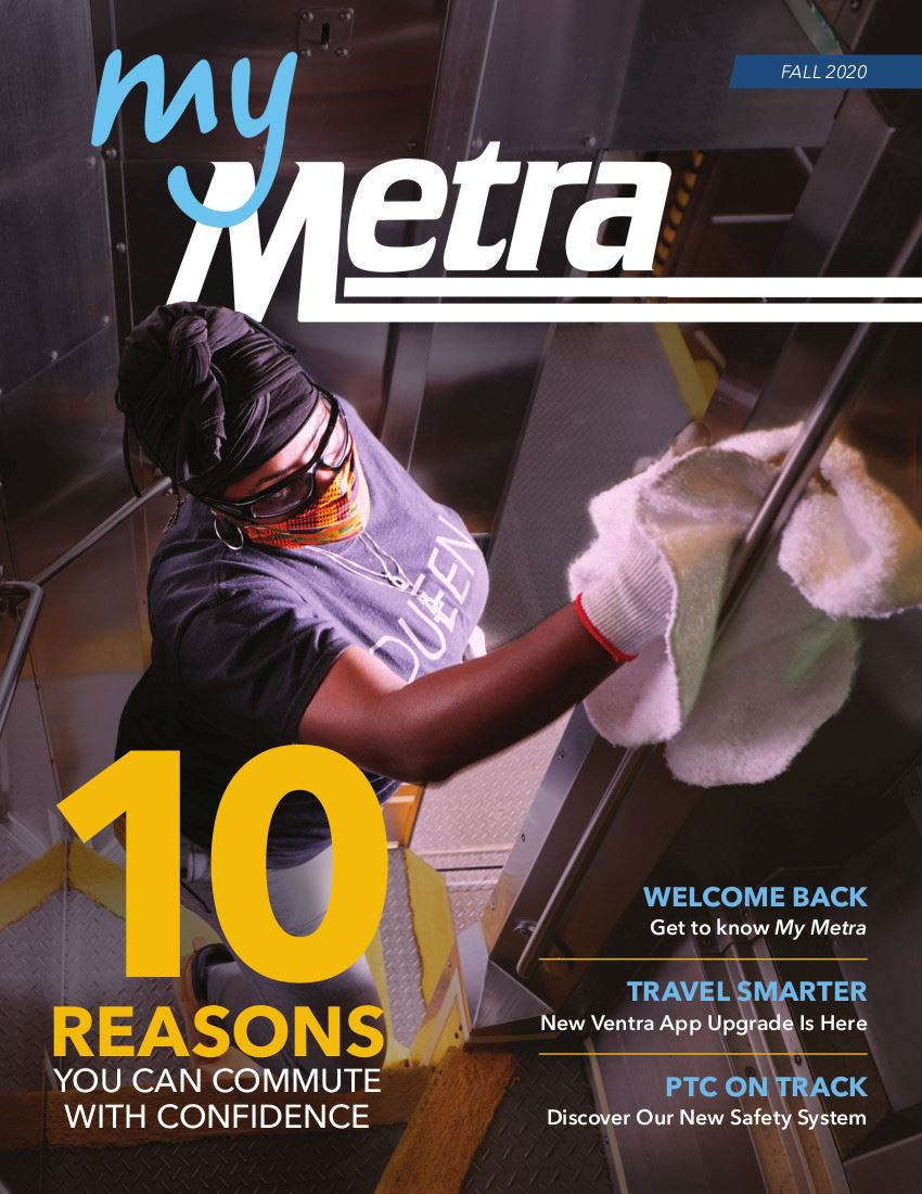 My Metra Newsletter Cover Fall 2020